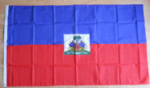 Haiti Large Country Flag - 3' x 2'.